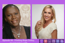 Episode 88–Finding Hope Today, My interview with Licensed Therapist Christy Jordan