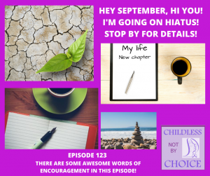 Episode 123–I'm going on hiatus, stop by for details!